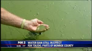 Water ban Toledo Monroe county