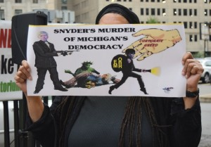 Murderer Gov. Rick Snyder.