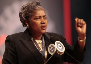 Donna Brazile, national vice-chair of the Democratic Party.