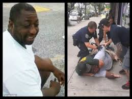 Police killed Eric Garner in NYC.