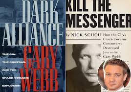 "Gary Webb (in inset) exposed the CIA crack cocaine controversy in articles for the San Jose Mercury News, now owned by DFM. Webb's book ""Dark Alliance"" was published before his ALLEGED suicide by shooting himself TWICE in the head."