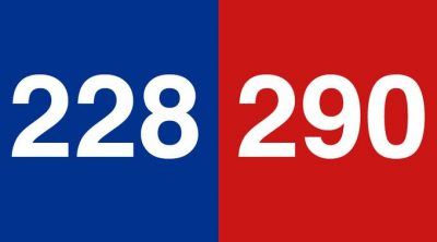 Final U.S. electoral college results