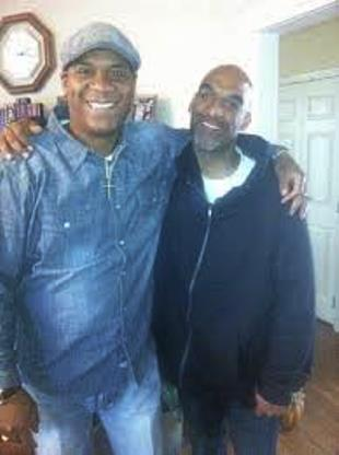 Brothers Andre and Eric Harris
