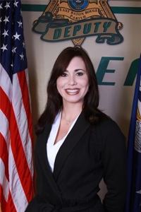 Baton Rouge police Public Information Director Casey Rayborn Hicks
