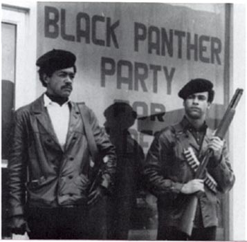 Black Panther Party led revolutionary movement in 1960's and 70's.
