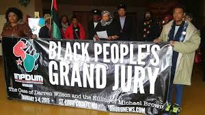 Black People's Grand Jury in Ferguson, Jan.