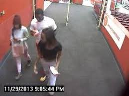 These individuals, caught on a surveillance camera, were said to have been involved in a crime. However, no crime is seen.