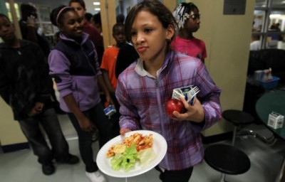 Forty-two percent of children in areas of Boston live under the poverty level.