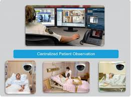 CISCO surveillance of hospital rooms.