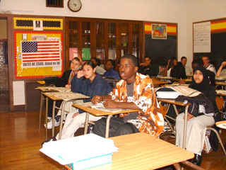 Chadsey High School, permanently closed, was renowned for its multi-racial, multi-cultural student population.