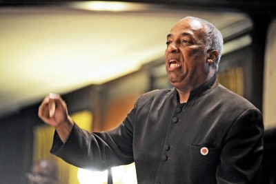 New York City Councilman Charles Barron, a member of the Freedom Party.