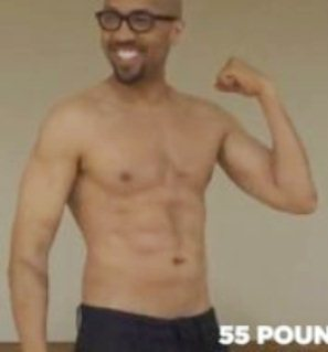 Charles Pugh in video showing off his body.