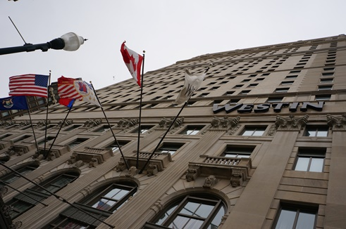 Chase shareholders held their meeting at the Westin Book Cadillac in downtown Detroit, formerly home to Detroit Emergency Manager Kevyn Orr. Photo: Stephanie Gordon