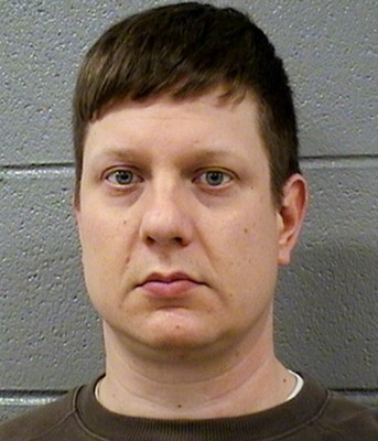 Chicago cop Jason Van Dyke, charged with first-degree murder.