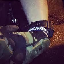 Cop with I am Darren Wilson bracelet Ferguson