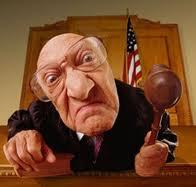 Cruel judge