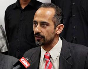 CCR attorney Darius Charney