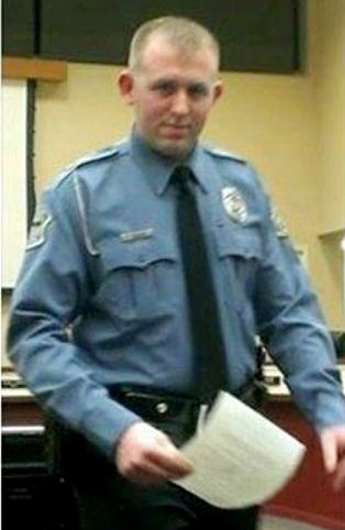 Darren Wilson receiving award two months before he killed Michael Brown.