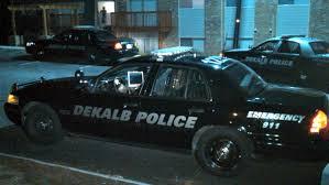 DeKalb Police car.