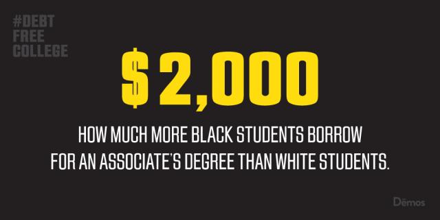Debt free college Black students