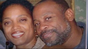 Delisa and brother Kevin Davis
