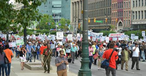 Detroiters Marching for Justice