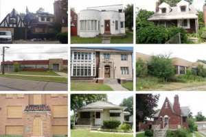 "Some of 6,000 homes included in the Detroit ""blight bundle"" for single purchaser, likely for demolition."