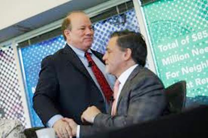 Racketeering partners Detroit un-Mayor Mike Duggan, billionaire Dan Gilbert