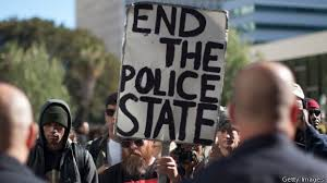 Anti-police brutality protesters..