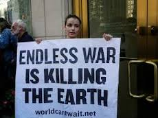 Endless war protest