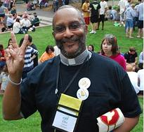 Father Ellis Clifton of St. Clements Episcopal Church