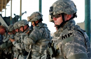 National Guard in Ferguson.