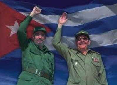 Fidel and Raul Castro; Fidel retired in 2008 due to health reasons and his brother assumed his duties.