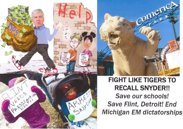 Fight like Tigers to recall Snyder