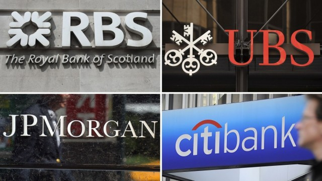 Four banks in conspiracy