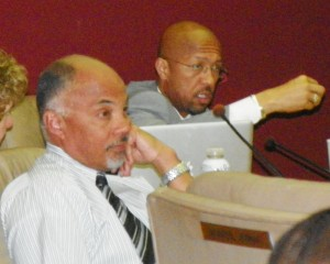 Pugh berates a member of the public commenting on proposed Consent agreement.