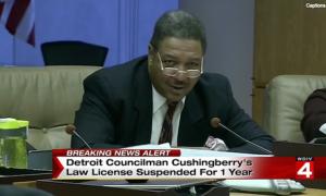 City Council Pres. Pro-Tem George Cushingberry