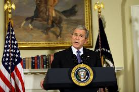 George W. Bush administration began the bailout.
