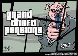 Grand theft pensions