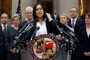 Gray Murder charges announced v six Baltimore cops
