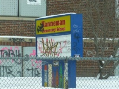 Hanneman Elementary School, one of 210 DPS schools already closed since 1999.