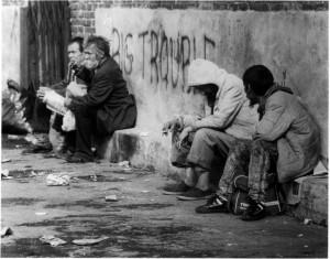 Homeless.