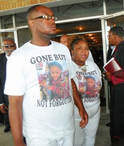 Mourners leave Mt. Zion