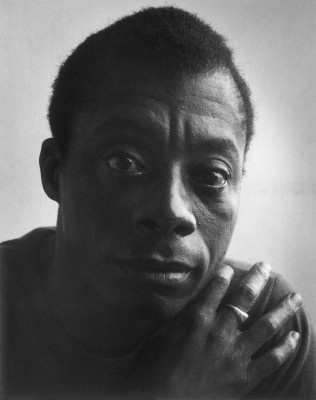 "James Baldwin: ""The lie of white supremacy."""