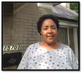 Jennifer Britt, victim of attempted federal foreclosure.