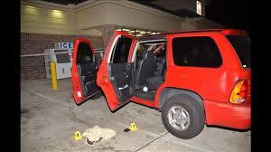 Crime scene at store parking lot where Michael Dunn killed Jordan Davis.