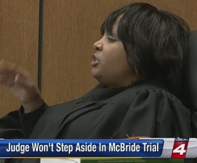 Judge Qiana Lillard was removed from trial by Chief Criminal Judge Timothy Kenny due to alleged bias.