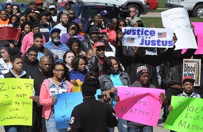 March in Zion, Illinois to demand justice for Justus Howell
