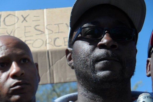 KK BLM protest