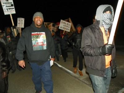 Marcher: Dearborn police murdered Kevin Matthews.